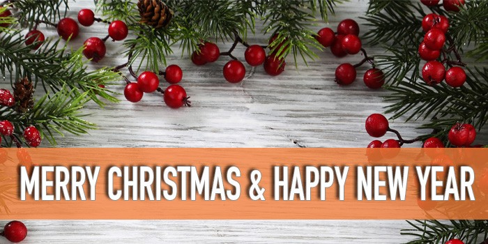 Merry Christmas & Happy New Year From Talent!