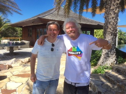Richard and Richard Branson