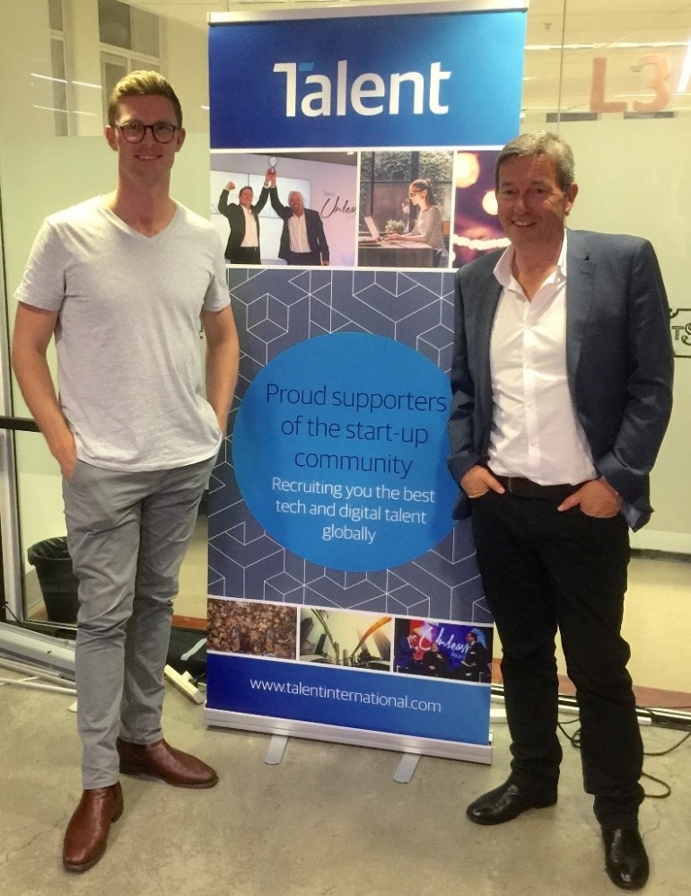 Chris Gilbert and Richard Earl, Startup, Tank Stream Labs, Sydney