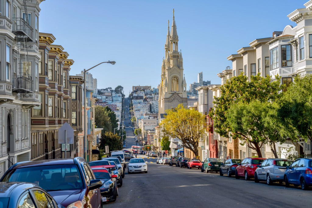 San Francisco steep streets