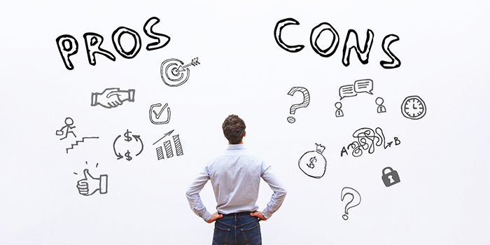 pros and cons for startup