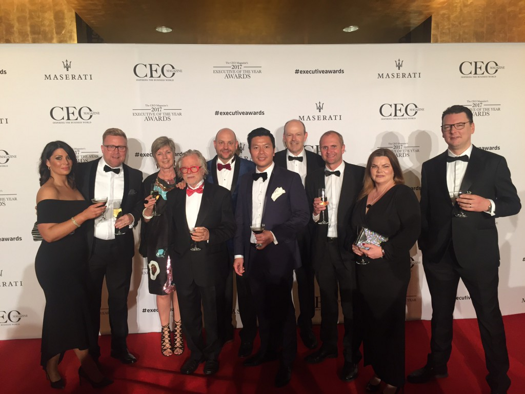 Mark Nielsen CEO Awards